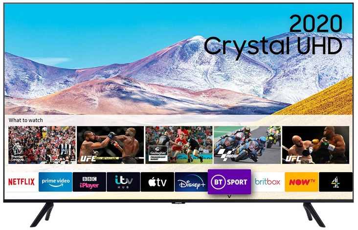 Image of Samsung UE65TU8000KXXU 65 Inch 4K LED Smart TV 2020 Model