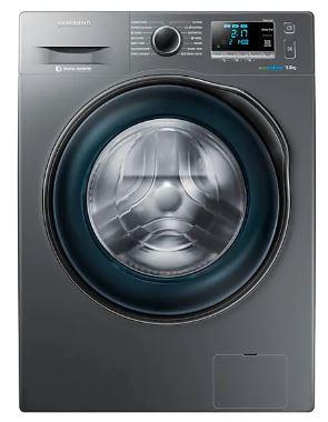 Image of Samsung WW90J6410CX Washing Machine With Ecobubble, 9Kg