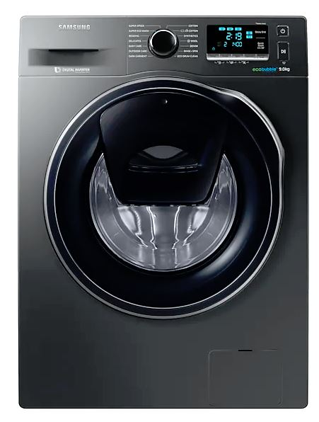 Image of Samsung WW90K6410QX 9Kg Addwash Washing Machine, Ecobubble