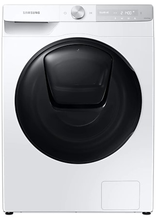 Image of SAMSUNG QuickDrive WW90T854DBH/S1 WiFi-enabled 9 kg 1400 Spin Washing Machine - White, White